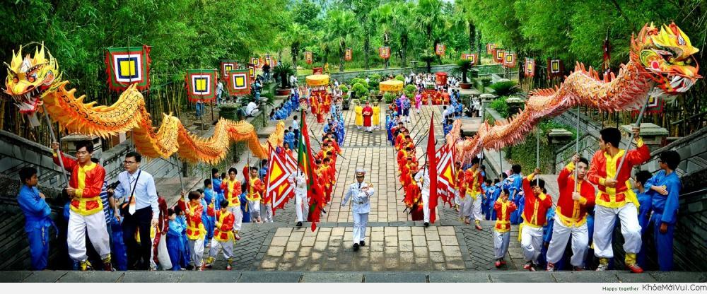 Nghỉ lễ Giỗ tổ Hùng Vương 2016