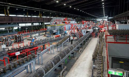 Nơi 14 công nhân làm ra 500.000 tấn thép